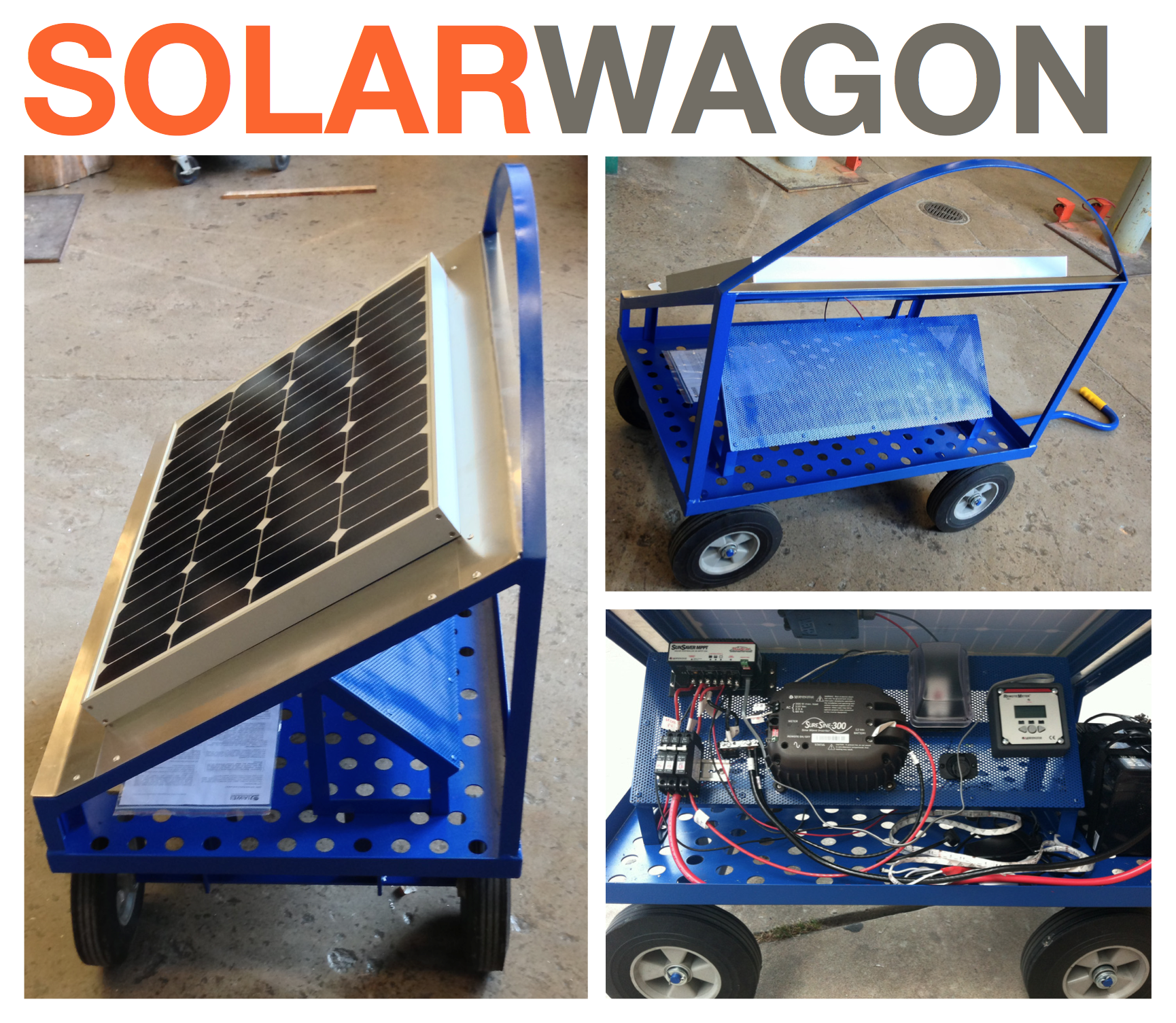 Picture of Off-the-Grid Solar Wagon