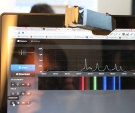 Silhouette Cut Public Lab Mobile Spectrometer