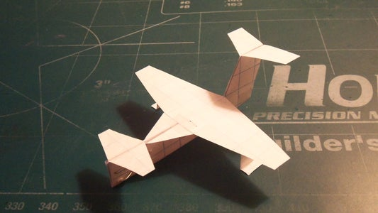 How to Make the Turbo StratoCruiser Paper Airplane