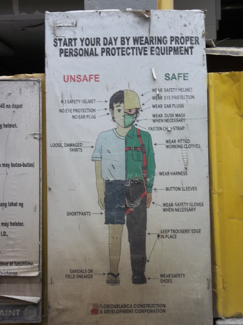 Picture of Safety on Work Sites in Odd/ 3rd World/ War Zone Locations