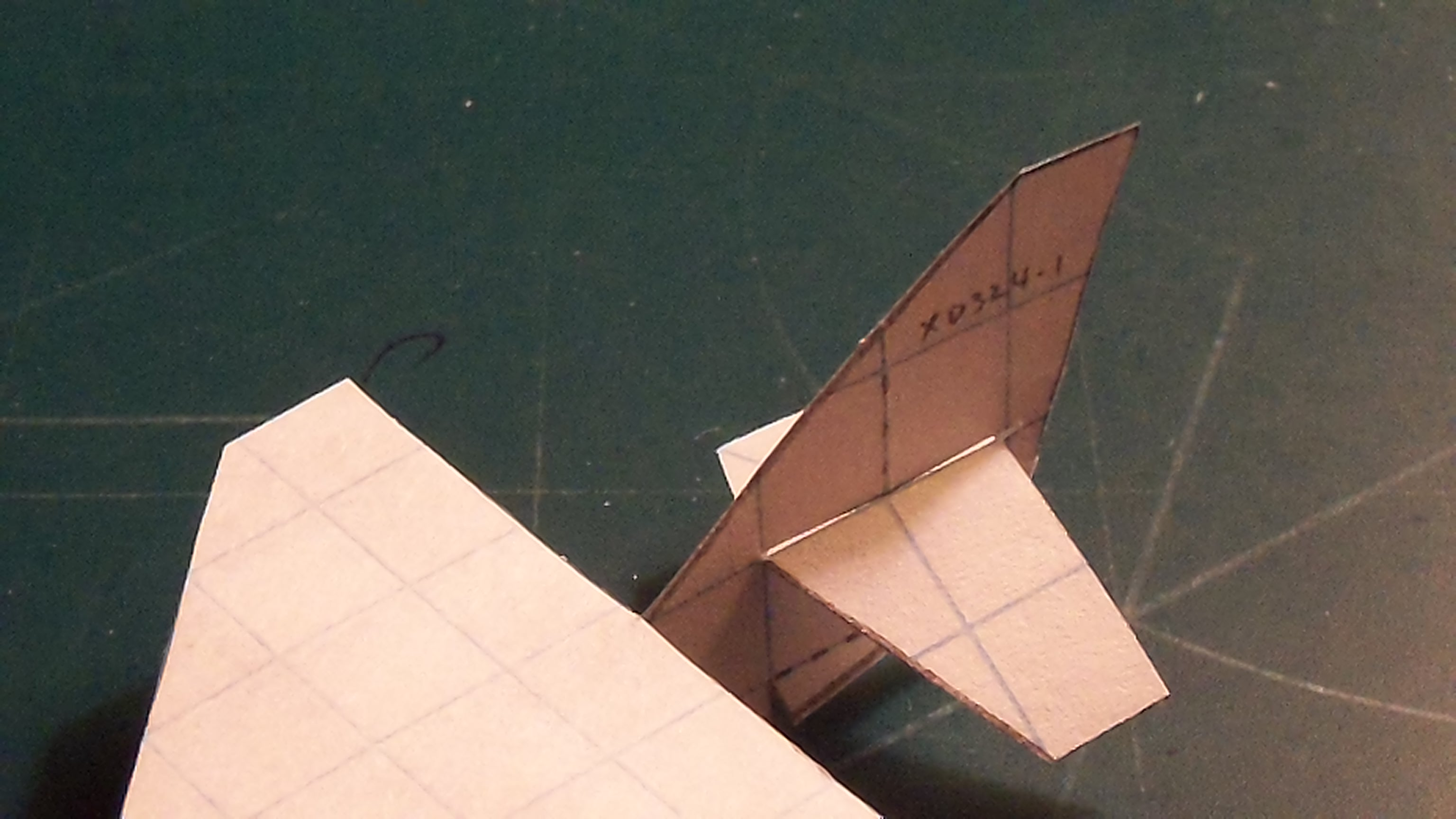 Picture of Applying the Wings and Horizontal Stabilizers; Stapling