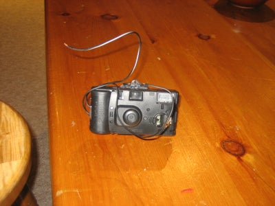 Safety and Taser Out of a Disposable Camera