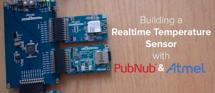 Realtime Temperature Sensor and Dashboard