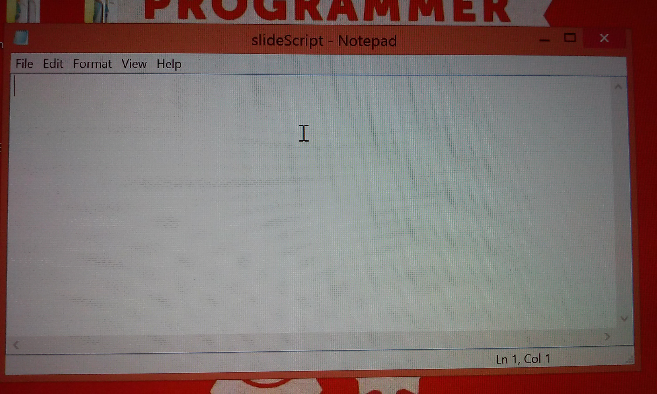 Picture of Adding Some HTML