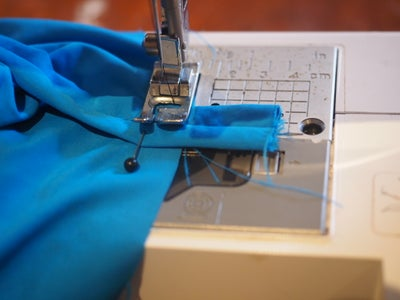 Pin and Sew Straps and Back