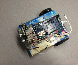 MCU-1: A budget-conscious Intel Edison MCU based Rover Toy Car. (Intel IoT)