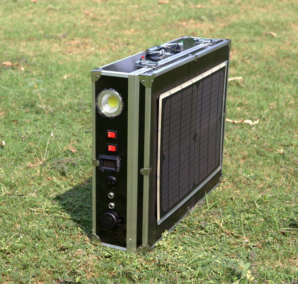 Picture of DIY All in One Solar Power Pack