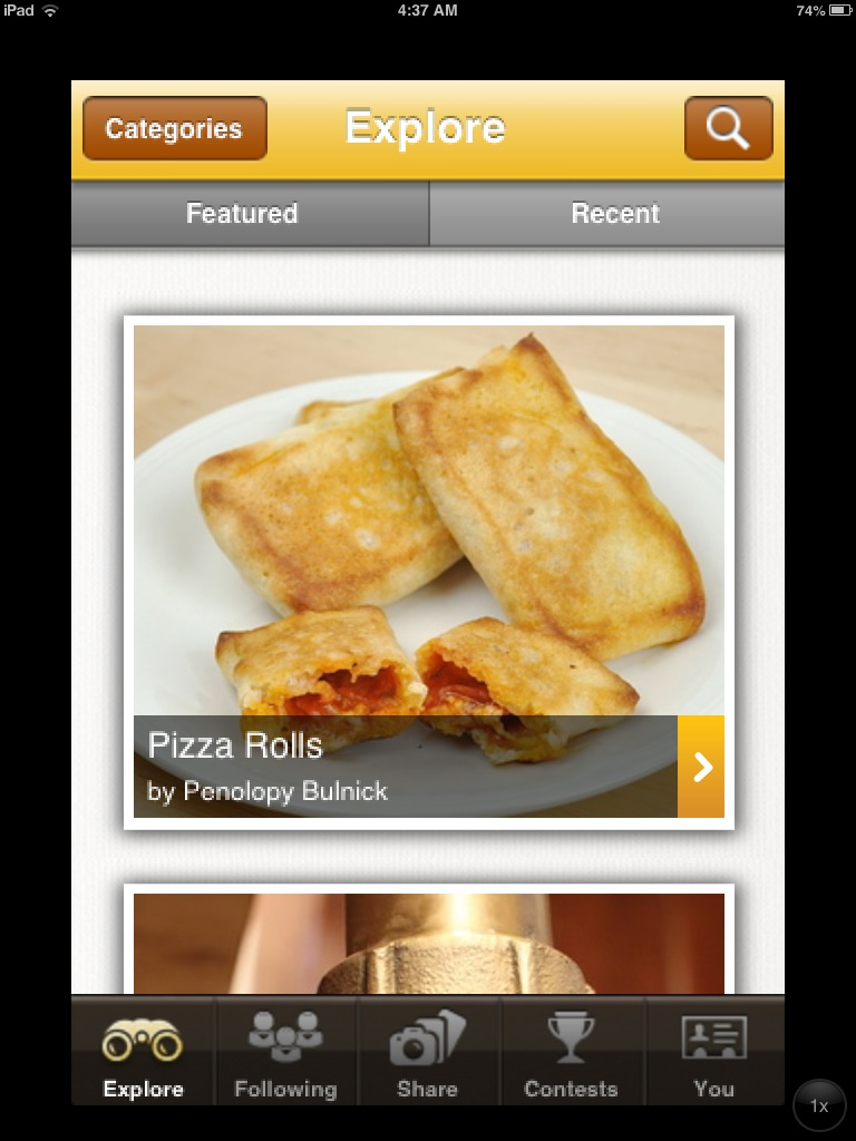 Picture of How to Use the Instructables for IPhone App