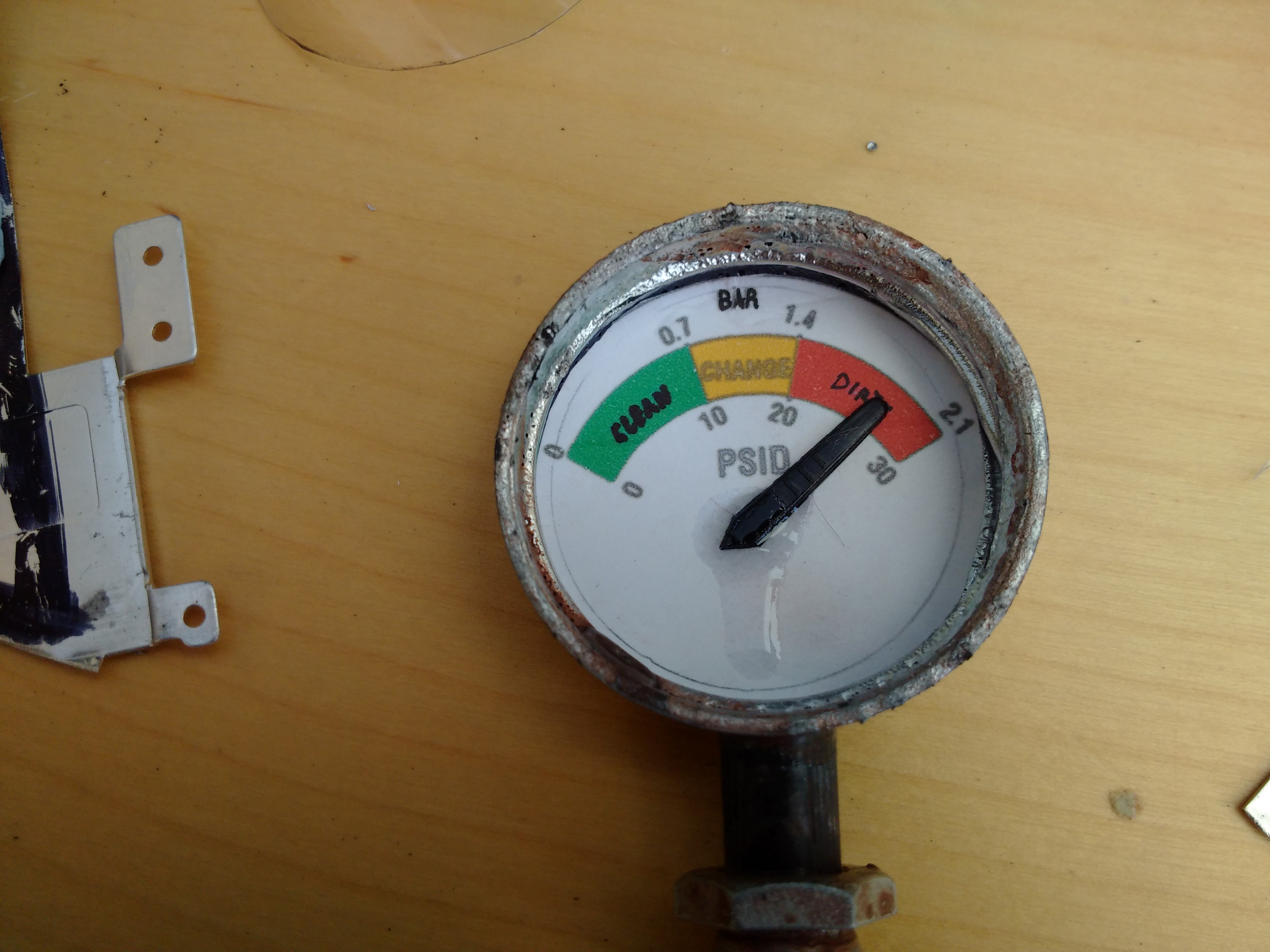 Picture of Pressure Gauge