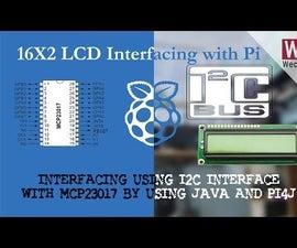 16x2 LCD Interfacing With Raspberry Pi Using I2C/Pi4J/JAVA