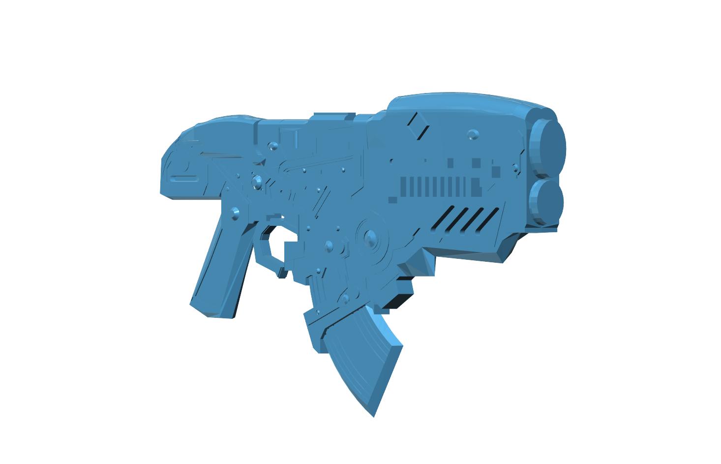 Picture of Gears of War - Hammerburst Rifle - Freedownload :)