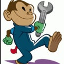 monkey with a wrench