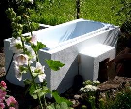 DIY热木桶+20,用于花园放松