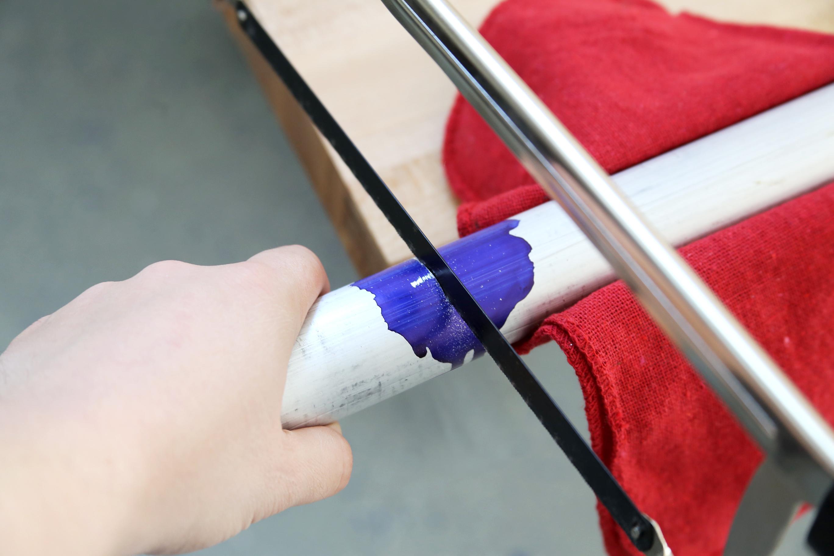 Picture of Cut the Aluminum Rod
