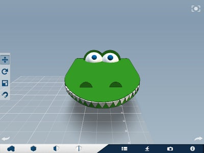 Alligator Money Clip