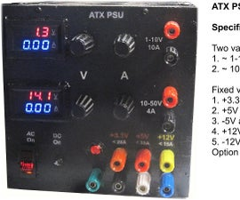 ATX Based Lab Power Supply - 10th Year Anniversary Edition