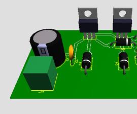 Regulador 78XX >2A -  78XX Regulator > 2A
