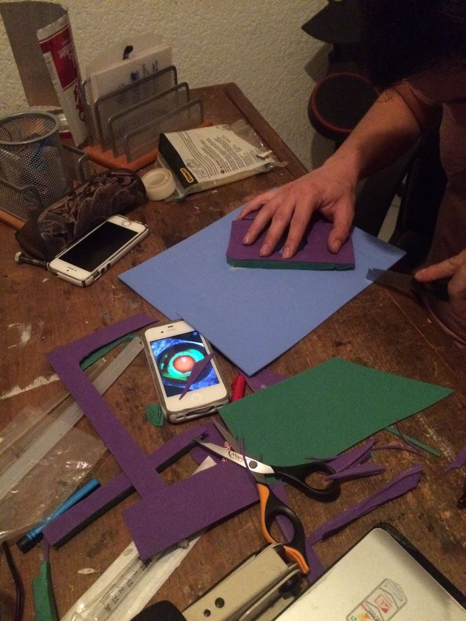 Picture of Making the Headband