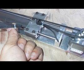 Homemade X Y Z Axis Slide for DIY Homemade RepRap Prusa 3D Printer Engraving Plotter Laser Frame