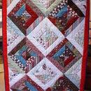 Cozy Christmas Lap Quilt