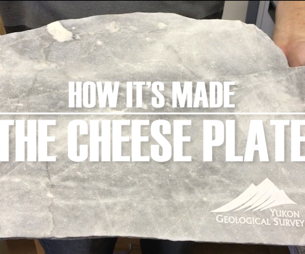 How to Cut and Engrave a Stone Cheese Platter