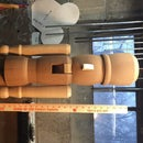 3 Foot Tall Wooden Nutcracker Hearth Decoration
