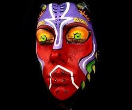 Majora's Mask Face Paint