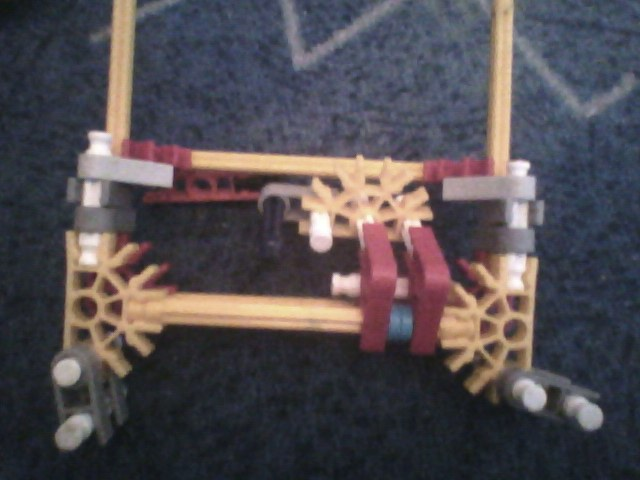 Picture of Front Axle and Steering Mech