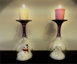 DIY Christmas / winter decoration