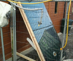 Beer Can Solar Space Heater