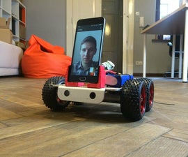 SpyBot - Internet-controlled robot with videostreaming