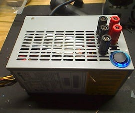 ATX power supply to benchtop power supply