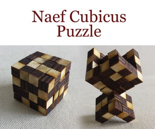 Wooden Naef Cubicus Puzzle