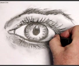 How to Draw a Human Eye