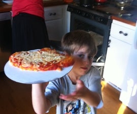 Pizza Making with the Kids - 30 minutes