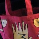 Gravity Falls Journal Tote Bag