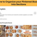 How to Organize Your Pinterest Boards Into Sections