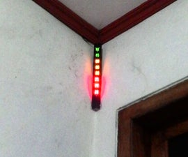 Ultrasonic BIG LED Water Level Indicator