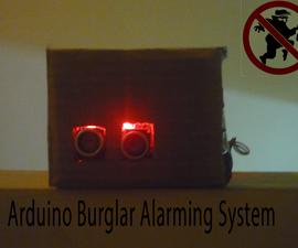 Arduino Burglar Alarming System