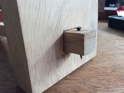 Marking Gauge From Scrap Wood