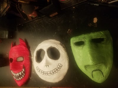 The Nightmare Before Christmas Lock, Shock and Barrel Masks