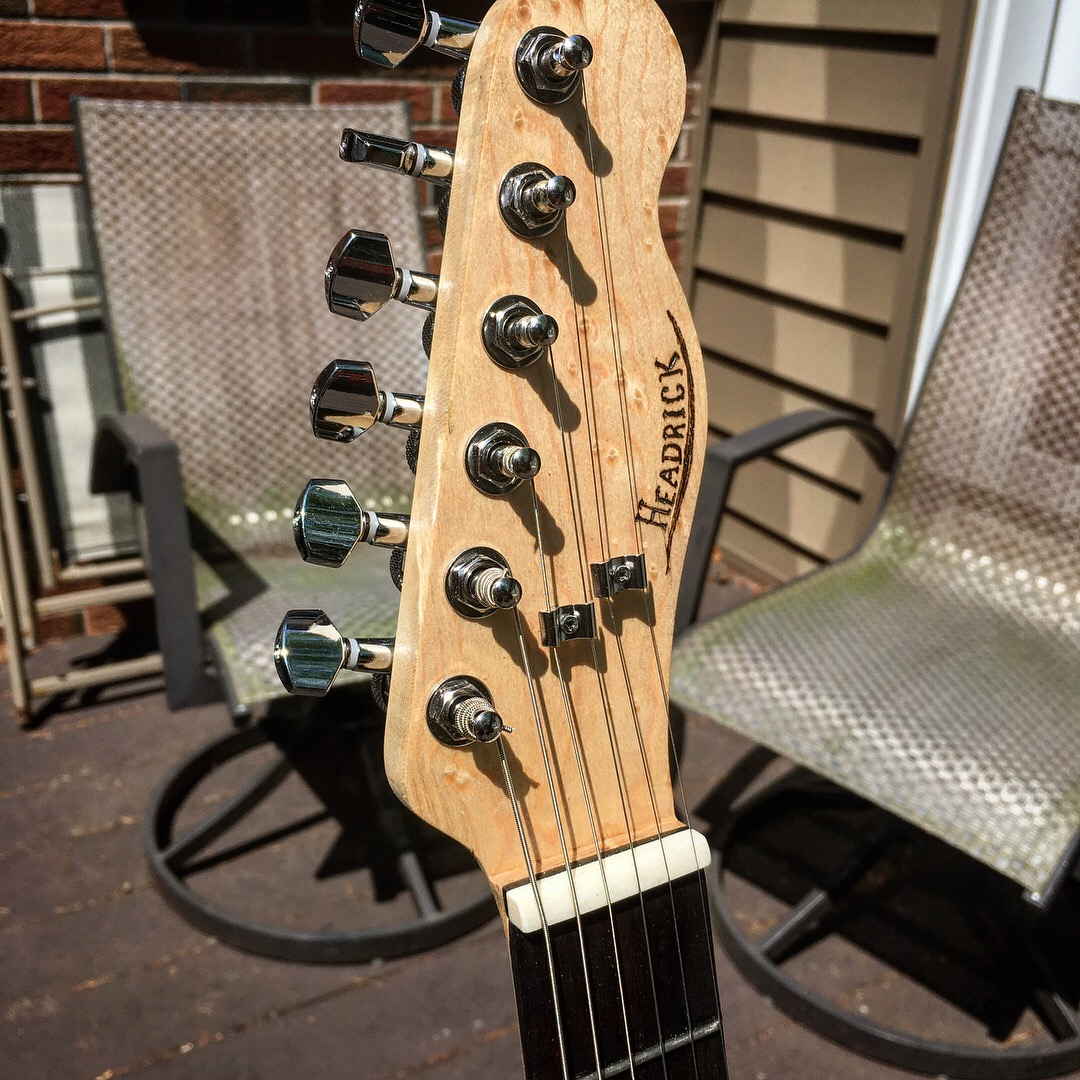 Picture of Handmade Electric Guitar