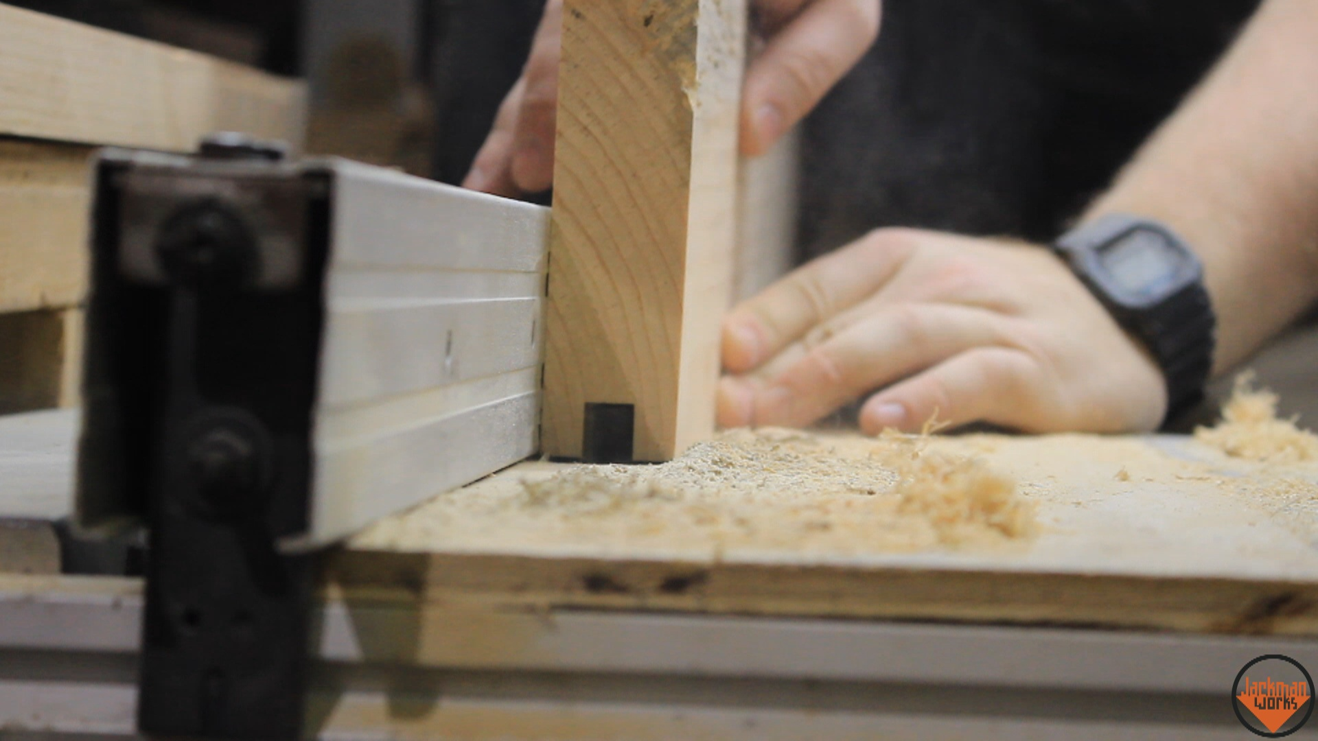 Picture of Cutting Grooves and Tenons