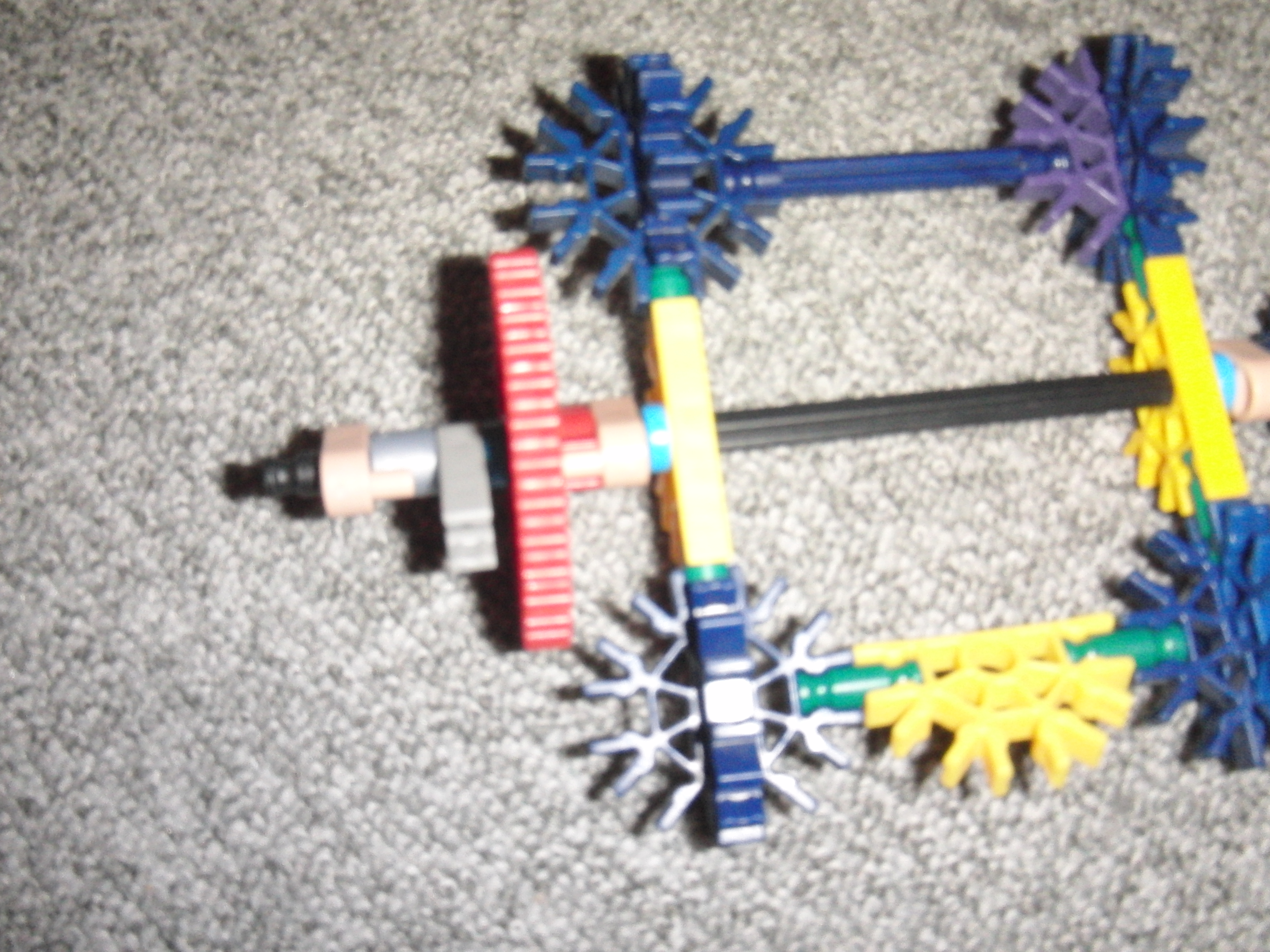 Picture of Motor and Gearing Part 2