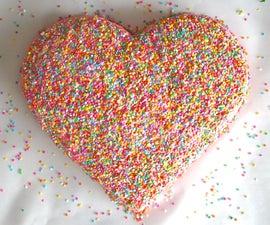 How to make a heart cake