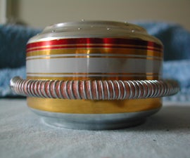 Priming Wick for Alcohol Stove [and Pot Stand]