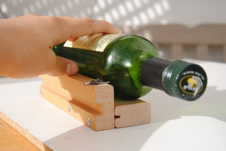 How to Make a Glass Bottle Cutter - DIY Wine Bottle Cutting Tool!