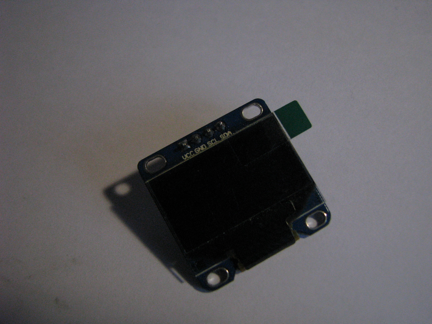 Picture of OLED I2c Display With Arduino