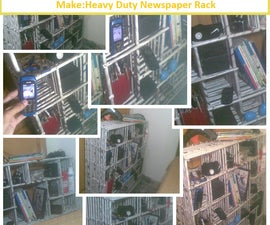 Make:Heavy Duty Newspaper Rack