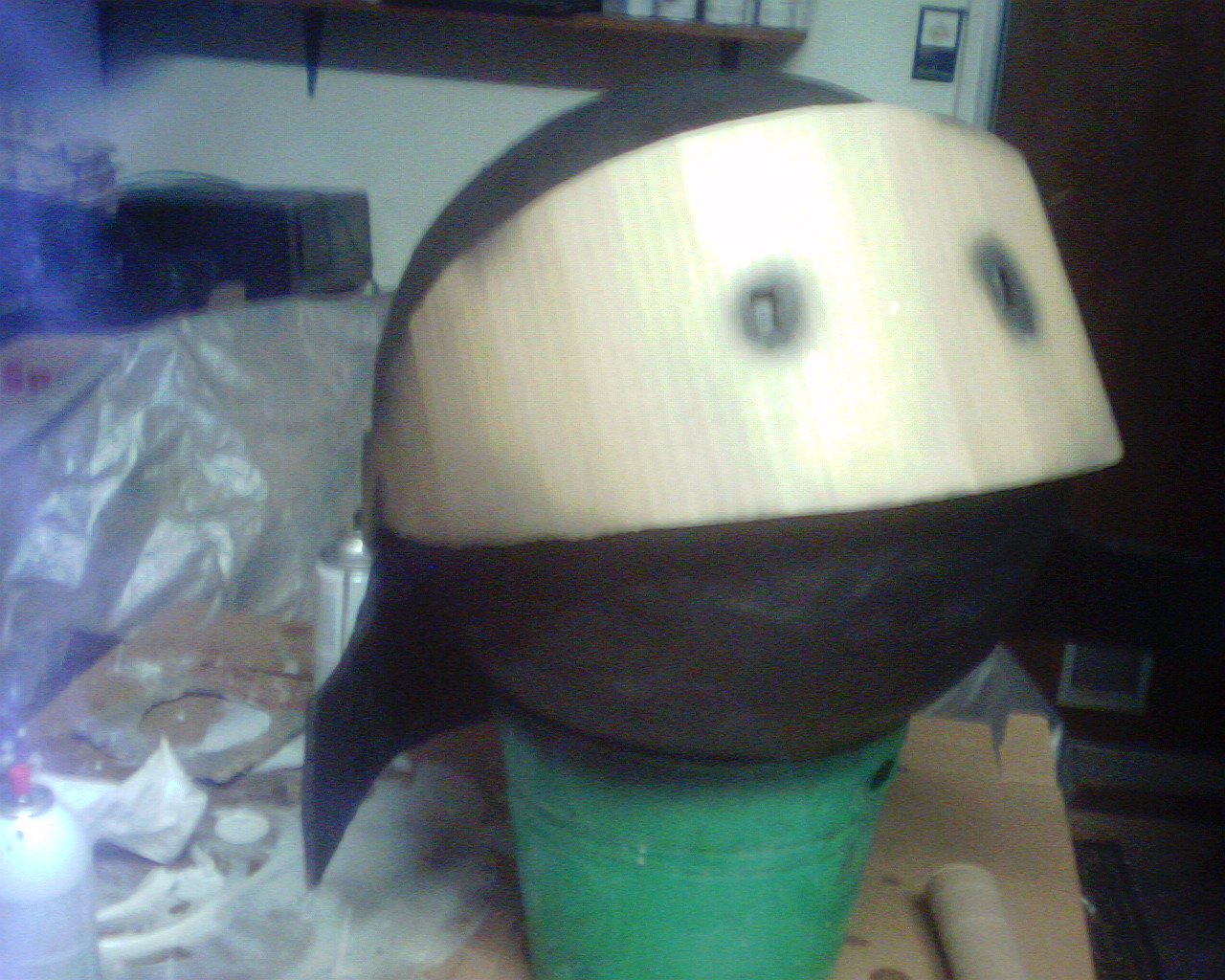 Picture of Helmet Comes Together and Gets a Paint Job